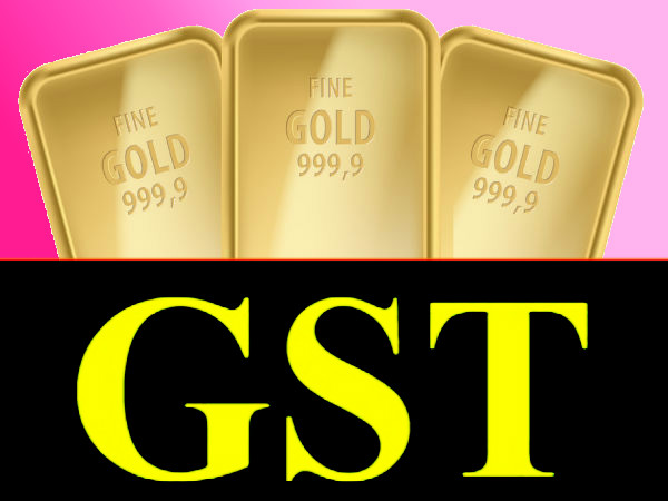 GST rate on gold
